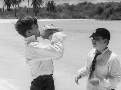 Une conque trouvée sur la plage permet dunifier les enfants provisoirement