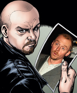 Simon Pegg devient le héros de The Boys par Garth Ennis !