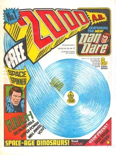 Ne pas juger un magazine à sa couverture : le numéro 1 de 2000 AD
