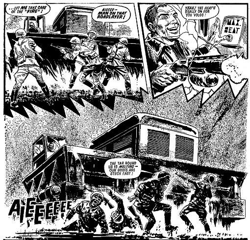 Tous les moyens sont bons : des volgans écrasés au bulldozer