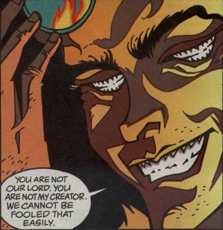 Le Corinthien fait son grand retour pour lavant dernier arc de la série. Qui lui demandera son budget dentifrice ?