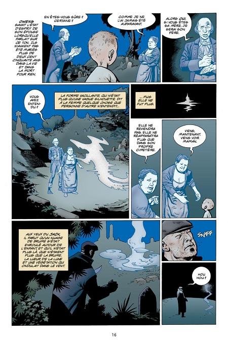 De l'adoption chez les fantômes… (dessin de Kevin Nowlan)