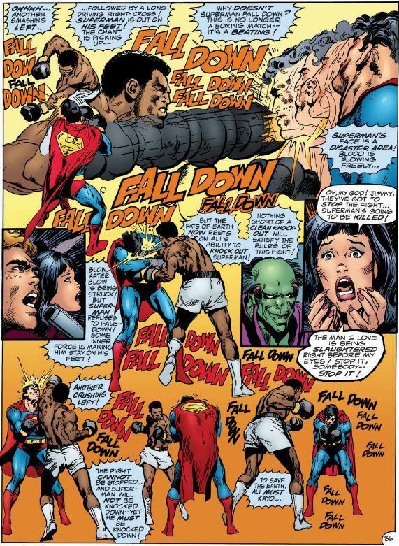 Superman se prend une super raclée....
