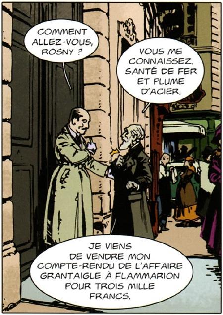 Maurice Renard rencontre J.H. Rosny l'aîné, l'un des fondateurs de la science-fiction moderne!