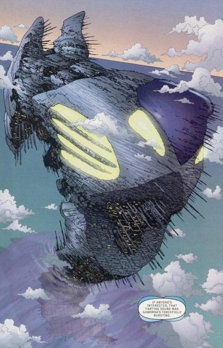 Le vaisseau inter-dimensionnel de The Authority : Un personnage à lui-tout seul !