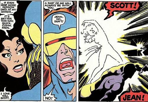 Le premier suicide d'un super héros !