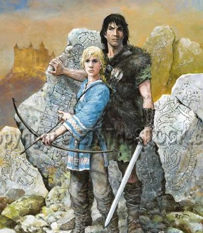 Bon, alors qui c'est le héros ?  a/ Jolan, b/ Thorgal, c/ Le rocher