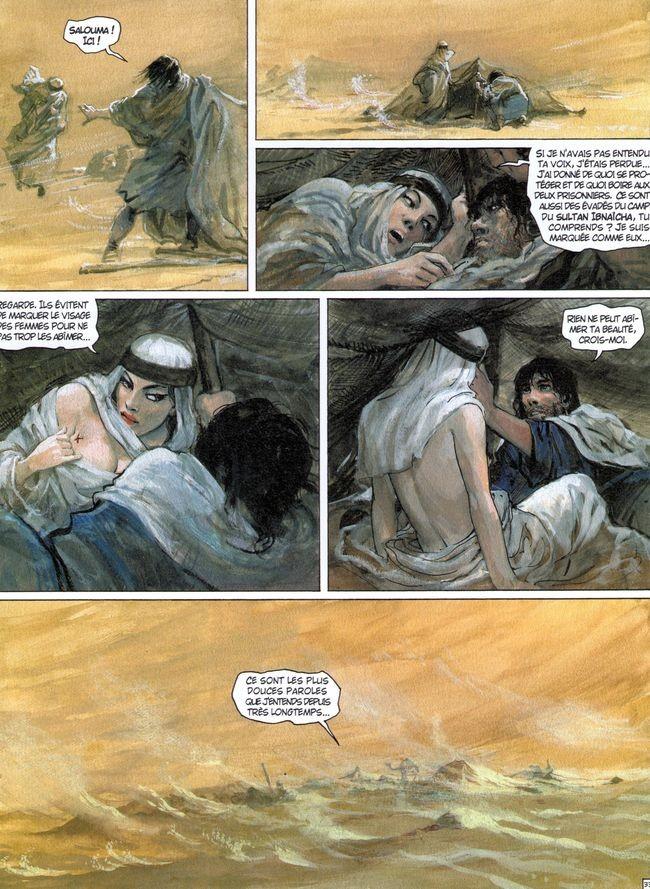 En invitant Salouma dans sa couche Thorgal est un 1/ cuistre, 2/ un enfoiré, 3/ un bon vivant  ? ( plusieurs choix possibles...)