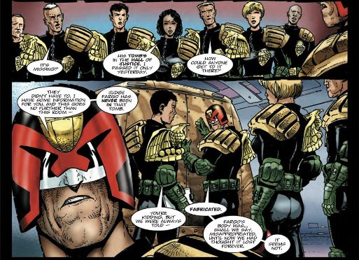 Judge Dredd annonce la composition de son équipe