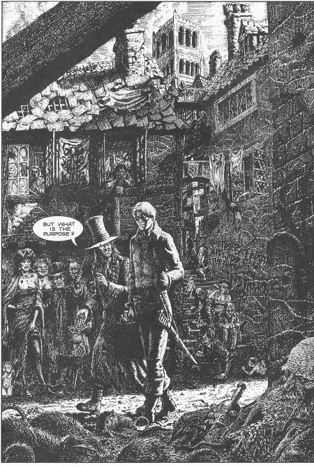 Une ambiance à la Dickens pour un comic book expérimental…