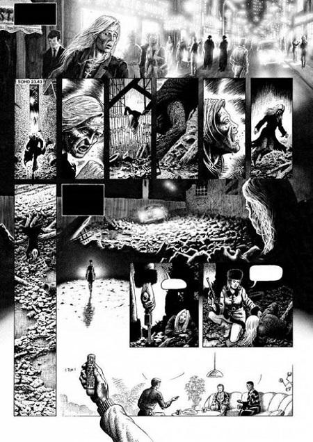 Ou tout simplement: un comic book expérimental mêlant les diverses techniques d'illustration…