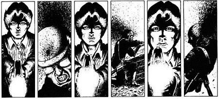 Pour son époque, un comic book très violent aussi!