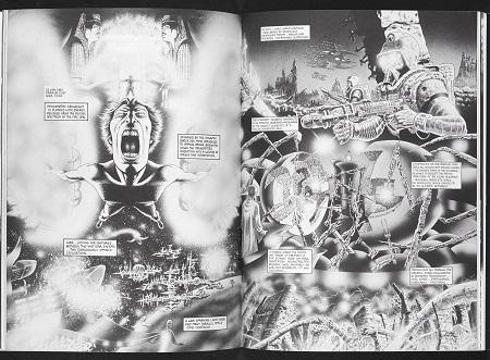 Et très souvent: un comic book halluciné!