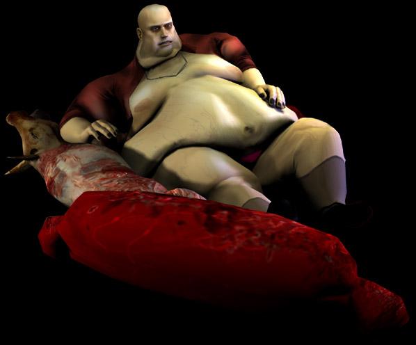 Le roi de la viande façon Jabba