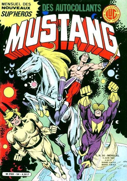 Mustang #54Le début d'une histoire fascinante et… des autocollants!