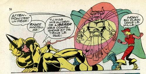 Photonik face au puissant Minotaure!