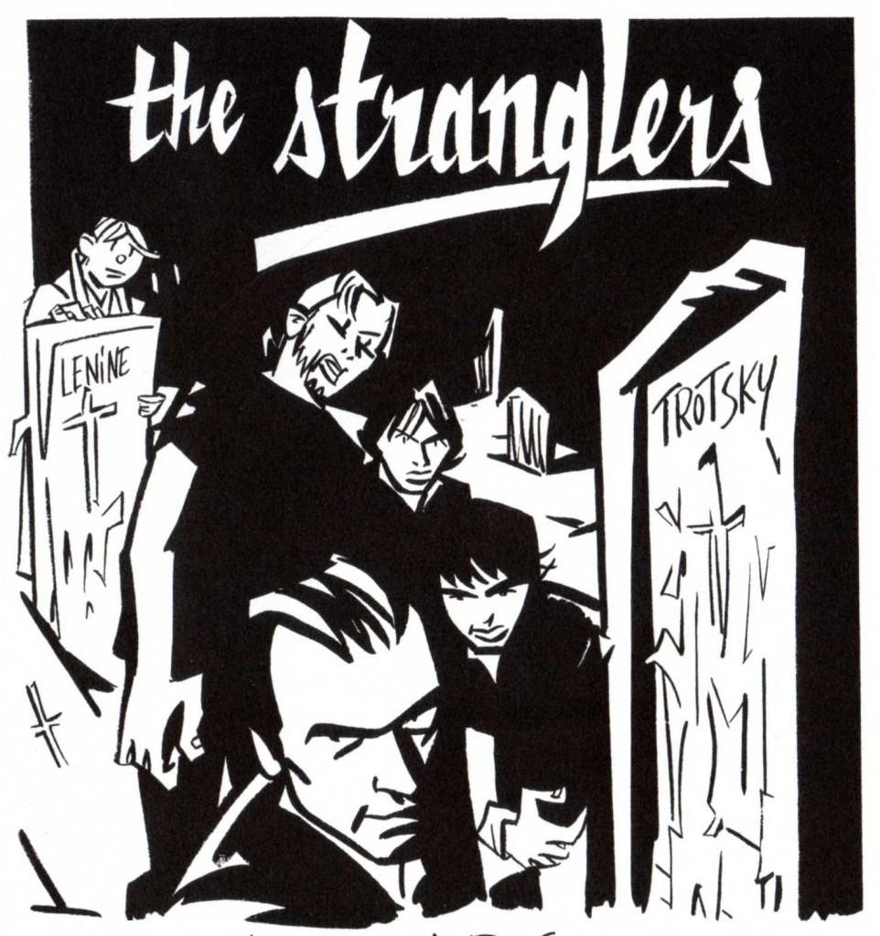 Les Stranglers, aussi inquiétant en dessin que dans la réalité