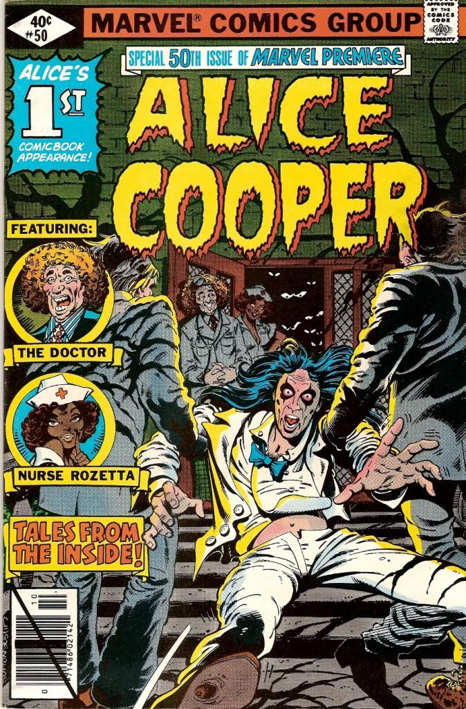 Alice Cooper a eu son Comics Marvel pas terrible dailleurs)