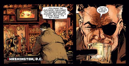 Nick Fury aussi, fait penser à sa version MAX