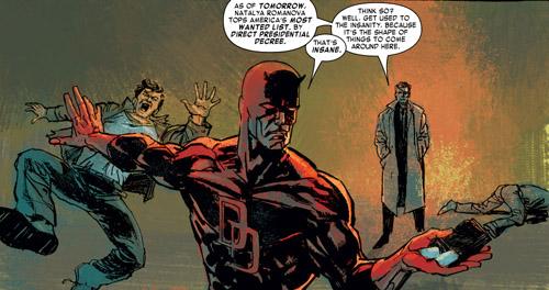 Nick Fury va envoyer Matt Murdock bien loin de Hell's Kitchen