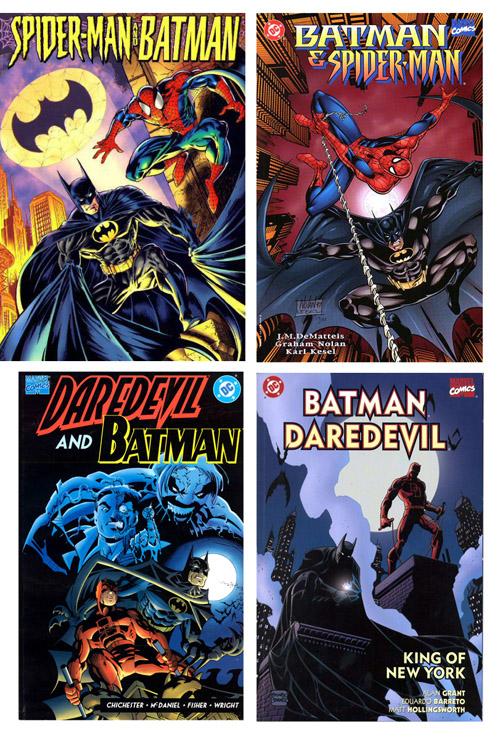 Spider-man et Daredevil, deux partenaires naturels pour le Dark Knight