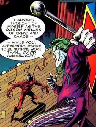 Le Joker trouve que Carnage manque d'ambition…