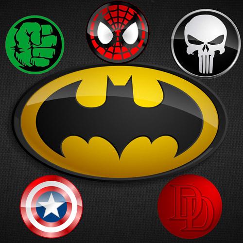 Collection de logos pour crossovers à gogo
