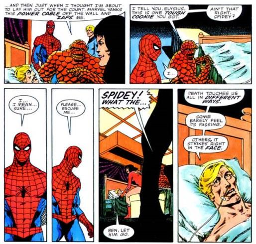 Peter Parker incapable de gérer son émotion