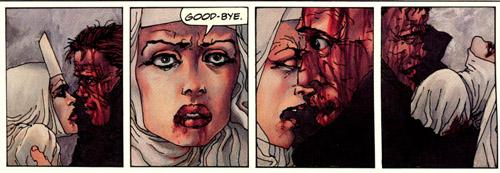 les seuls mots prononcés par Elektra dans toute l'histoire… De l'importance de pouvoir dire au revoir…