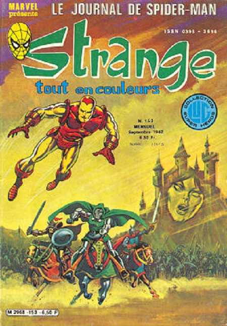 Une couverture bien connue des geeks au temps d'Excalibur!