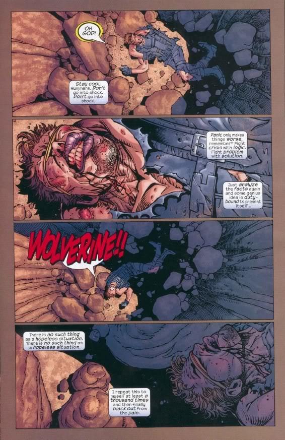 Cyclope après que Wolverine lui ait piqué sa meuf.....