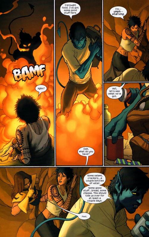 Diablo kidnappe Dazzler pour la violer....Une ultimate connerie....