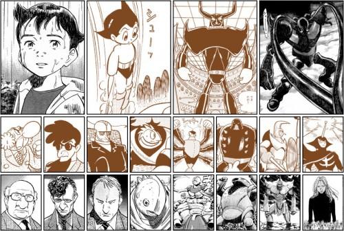 A l'inverse de Tezuka, Urasawa bâtit son Uchronie dans le réalisme le plus rigoureux