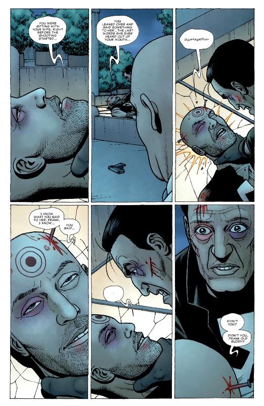 Une scène choquante : Bullseye réussit à briser le mental du Punisher !