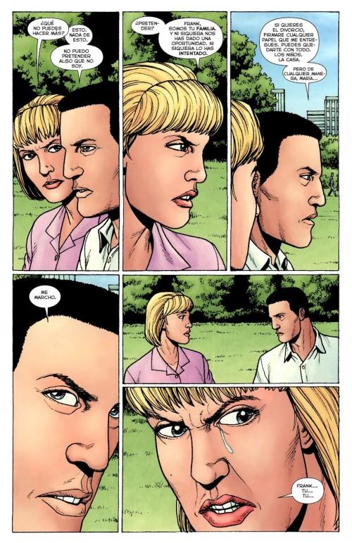 Même en espagnol, Maria a compris que Frank voulait la quitter....
