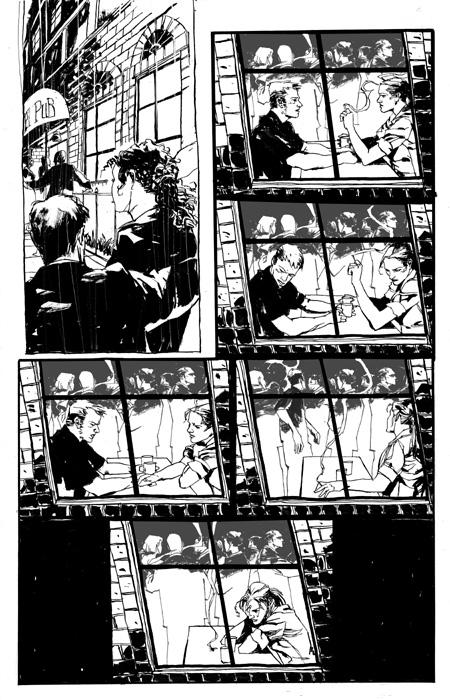 Une rupture joliment mise en scène sur une page muette par Jason Alexander