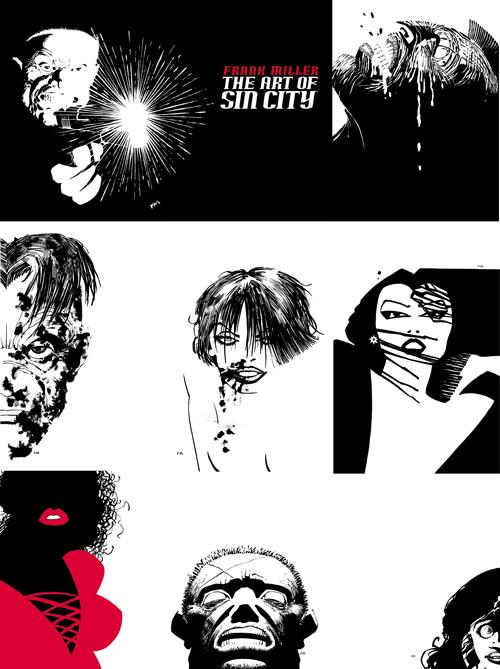 Couvertures de la 3ème édition : conceptuelles et usant beaucoup de l'espace négatif