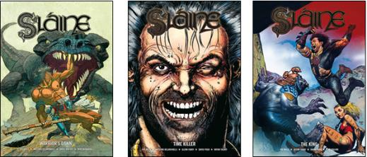 (1) Warrior's dawn, (2) Time killer, (3) The king slaingh