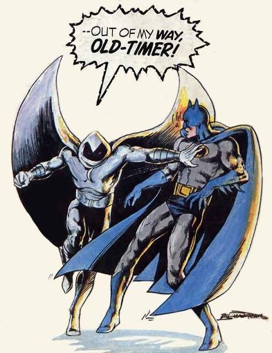 Non, je ne suis pas une pâle copie de Batman