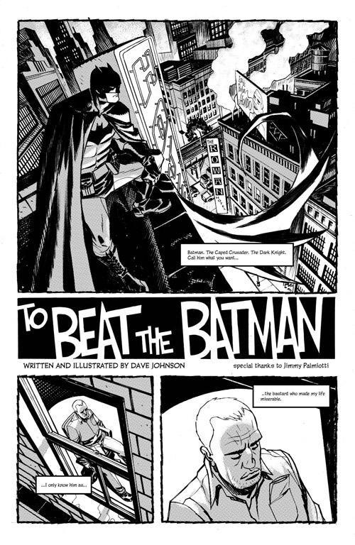 Même les petits truands peuvent rêver de battre Batman…