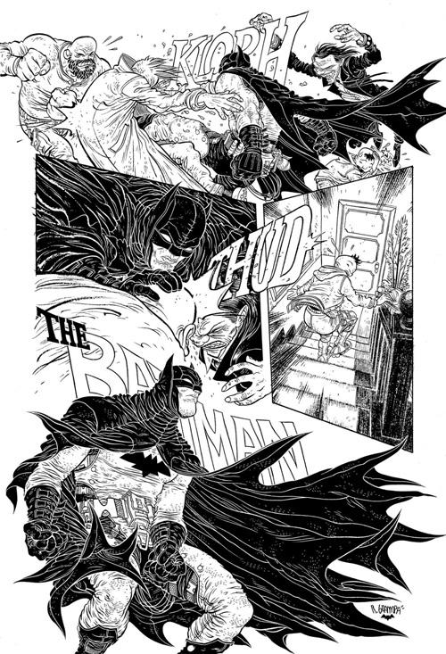 """Un graphisme original peut sublimer une histoire, comme ici avec Rafael Grampa dans """"Into The Circle"""" (vol 4)"""