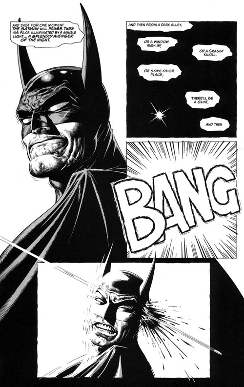 La mort de Batman, par Brian Bolland