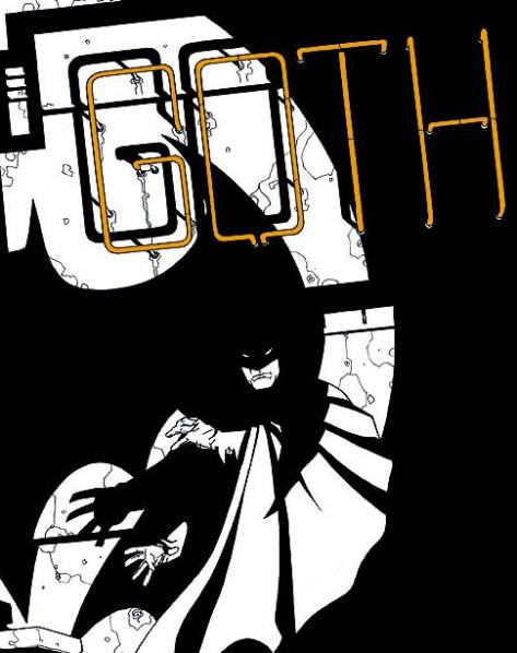 Batman vu par Dave Jonhson pour la couverture de Gotham Knights n°1