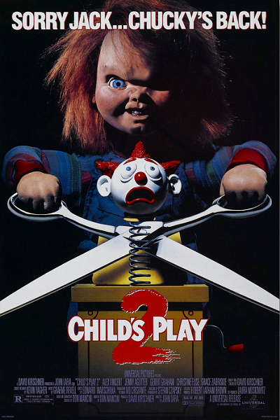 Coupez ! © Universal picutres.  Source : Amazon https://www.amazon.com/Childs-play-Movie-Poster-x36/dp/B00KSGOIZ4