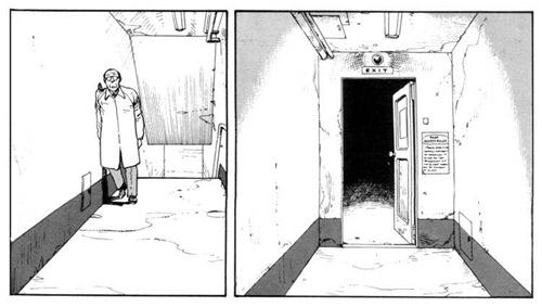 La peur derrière la porte…