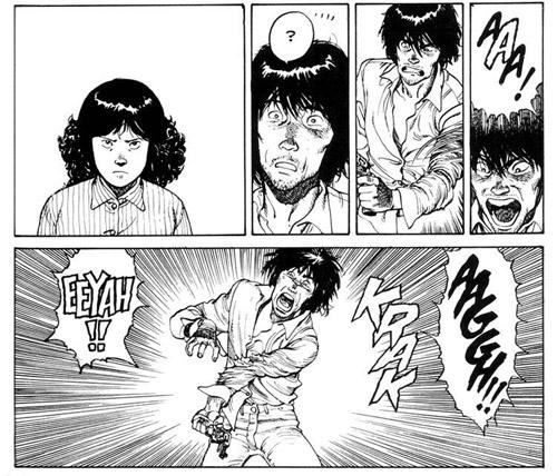 On ne dirait pas, comme ça, mais Etsuko connaît des blagues tordantes…
