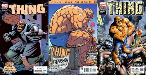 Au début du millénaire, la Chose sème les comics comme des petits cailloux