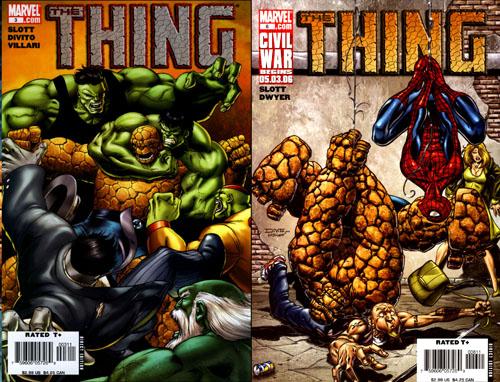 De très belles covers d'Andrea DiVito, qui ne dessinera malheureusement que les 5 premiers numéros