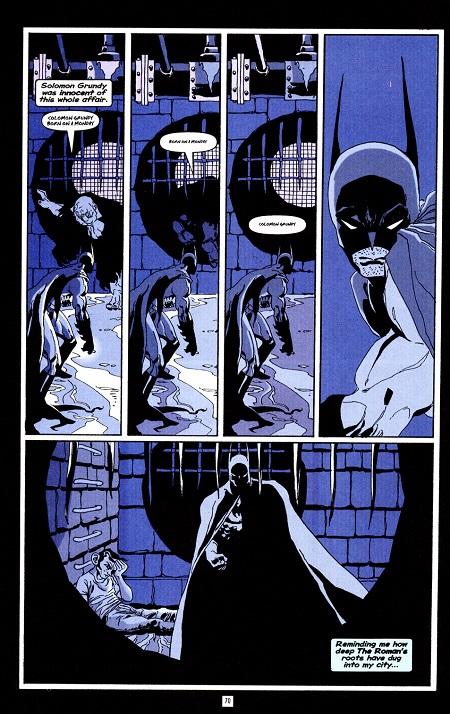 Petite promenade dans les égouts de Gotham City…