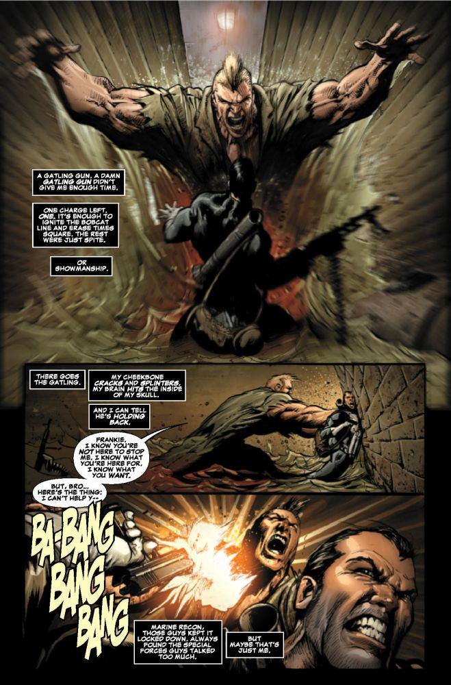 Tout le paradoxe du Punisher : du bourinage en apparence cachant une subtilité passionnante...